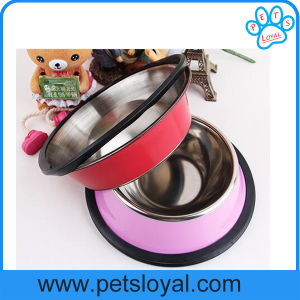 Manufacturer Stainless Steel Pet Dog Feeder Food Bowl pictures & photos
