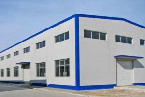 Steel Structure Prefab Building for Factory Warehouse (Steel Frame Structure) pictures & photos