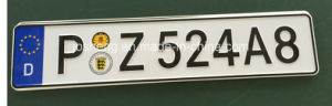 German License Plate, Advertise License Plate, License Plate pictures & photos