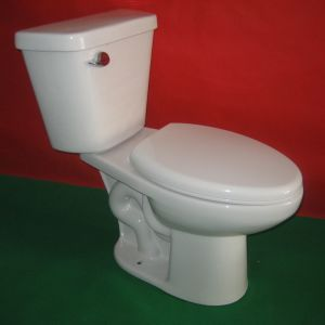 High Efficiency 1.28gpf Two Piece Toilet