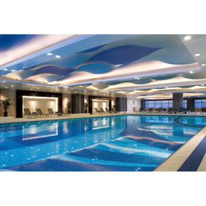 Swimming Pool SPA Designs Made of Glass Mosaic pictures & photos