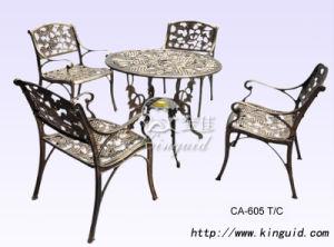 Cast Aluminium Furniture, Outdoor Furniture Ca-605tc pictures & photos