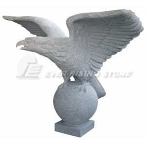 Eagle Carving, Granite and Marble Sculpture