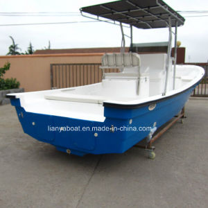 China Liya Cheap Frp Fishing Boat With Outboard Motor