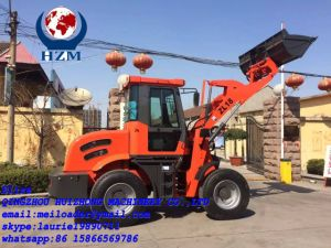 Front Loader Zl18, Small Wheel Loader Hzm 918 pictures & photos