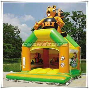 Good Price Inflatable Bouncer with Animal Printings