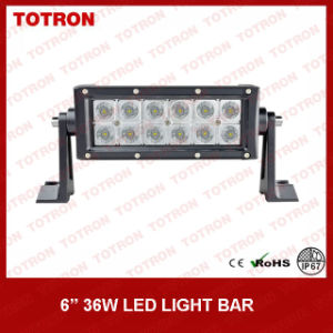 Totron Double Rows LED Light Bar with 3W Epistar LEDs (TLB4036) pictures & photos