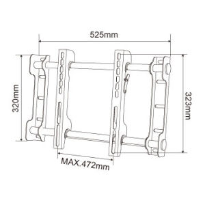"""Heavy Duty TV Wall Mount for 25""""-37"""" pictures & photos"""