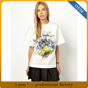 Wholesale New Design Women′s T Shirts pictures & photos