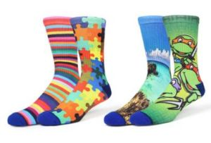 Custom Fashion 3D Printing Knee High Sport Sock pictures & photos
