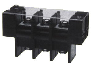 Double Side Barrier Terminal Blocks 600V 170A 27.0mm Pin Spacing with Plastic Sheet (KF67SS-27.0) pictures & photos