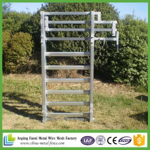 China Supplier Galvanized Cattle Yard Gate pictures & photos