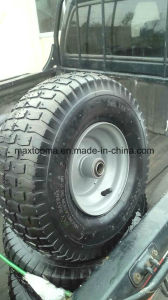 "Factory Environmental Tyre 15""X6.00-6 Hand Trolley Tyre pictures & photos"