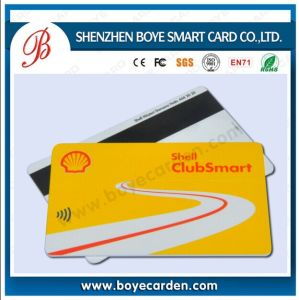 Hi-Co 3 Track 2 Track Magnetic Card ISO7810 for Bank or Membership pictures & photos