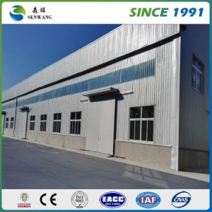 H Steel Structure L Shape Warehouse for Producing Line Equipment pictures & photos
