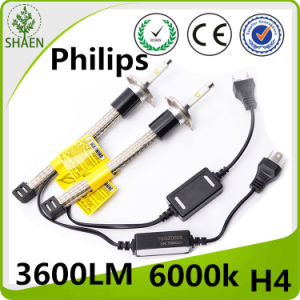 LED Car Light H4 Philips R4 LED Headlight 4000lm 30W pictures & photos