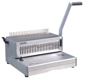 FC Size Comb Binding Machine for Book Punching and Binding (CB330) pictures & photos