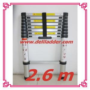 2.6m Telescopic Ladder/Domestic Aluminum Extension with En 131/SGS Certificate pictures & photos