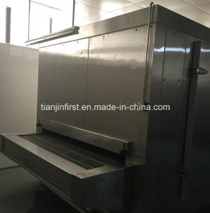 Tunnel Quick Freezer for Fish Shrimp Dumplings Bread pictures & photos