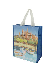 Reusable Wholesale Laminated PP Non Woven Shopping Bag pictures & photos