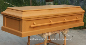 Simple Wood Casket with Disassemble Model pictures & photos