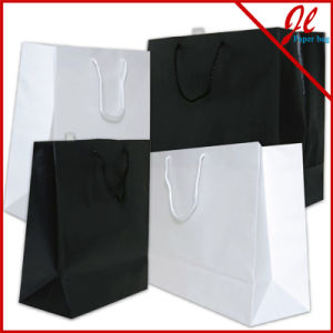 Short Handle Craft Paper Bag for Shopping pictures & photos