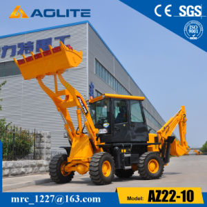 Aolite Mini Wheel Loader with Backhoe Attachment for Sale, Small Backhoe Loader for Sale pictures & photos
