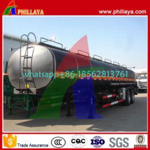 Tri-Axles Capacity 35-60cbm Semi Trailer Asphalt Bitumen Heating Tank pictures & photos