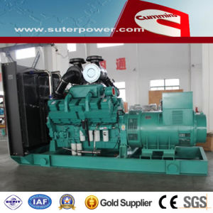 750kVA/600kw Electric Power Diesel Generator with Cummins Engine