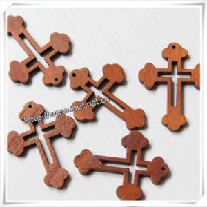 Easter Religious Hand Carved Decorative Wooden Cross (IO-cw005) pictures & photos