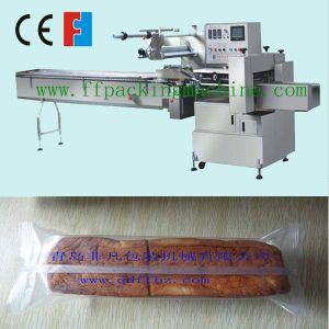 Servo Motor Control Horizontal Bread Flow Packaging Machine pictures & photos