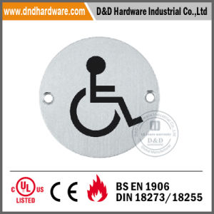 Stainless Steel Sign Plate for The Disabled pictures & photos