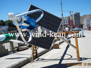 400W Maglev Wind Generator and Solar Panel System pictures & photos