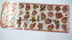 Crystal Dome Label High-Grade 3D Dome Sticker Plastic Mirror Sticker Epoxy Label pictures & photos