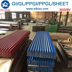 Dx51d Roofing Sheet Color Coated Galvanized Corrugated Steel Sheet pictures & photos
