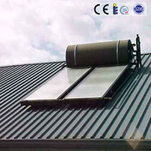 Flat Panel Solar Water Heater with Aluminum Alloy Support pictures & photos