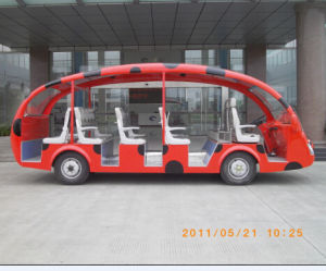 Cheap Price Battery Powered Electric Sightseeing Bus Made in China pictures & photos