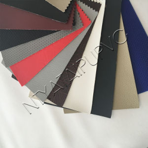 PVC Synthetic Leather with Good Friction Fastness for Auto Seat pictures & photos