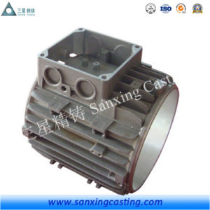 OEM Custom CNC Machined Iron Casting Motor Frame pictures & photos