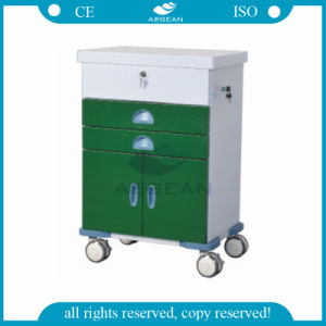 AG-GS004 Green Color ISO&CE Hospital Trolley pictures & photos