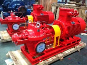 Electrical Double Suction Fire Fighting Pump pictures & photos