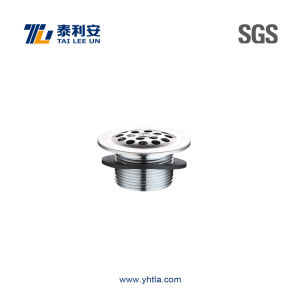 Chrome Plated Brass Round Floor Drain (T1073) pictures & photos