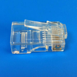 Cat5e RJ45 Connector CE/RoHS Standard (RG001) pictures & photos