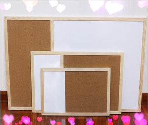 Lb-0311 Magnetic Half Cork Board Decorative Memo Board for Sale pictures & photos