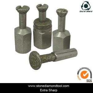 Diamond Electroplated Anchor Bit for Granite/Marble pictures & photos