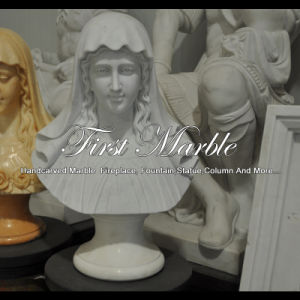 White Marble Bust for Home Decoration Ms-2427 pictures & photos