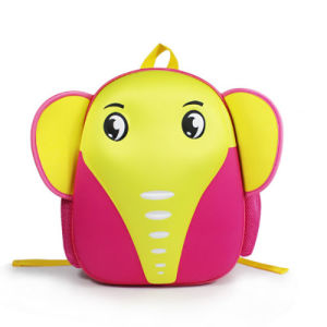 2017 Cartoon Style Smile Elephant Small Children Backpack pictures & photos