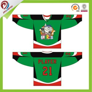 Best Design Cheap Sublimated Custom Hockey Jersey with Small Quantity pictures & photos