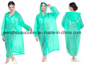 Emergency Adult Light Waterproof Rain Poncho pictures & photos