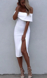 Fashion Retro Split Lady Garment pictures & photos